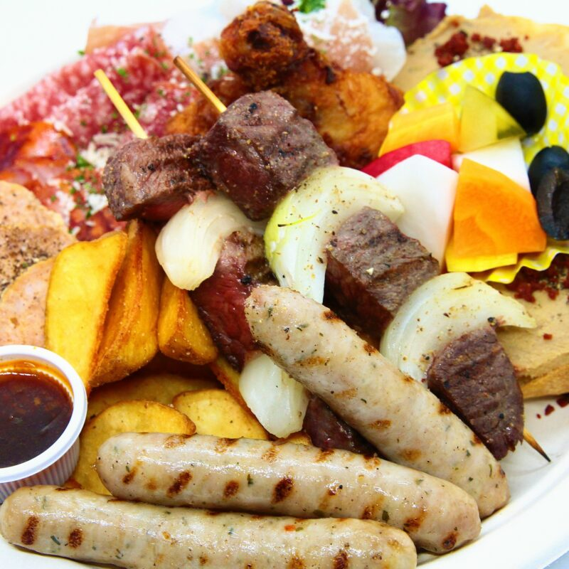 【Meat Paradise platter】肉バルプレート