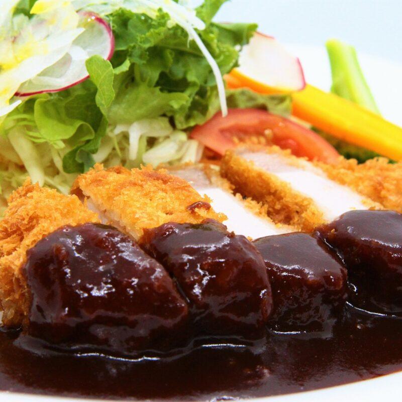 【Pork katsu】低温熟成豚ロースカツレツランチ
